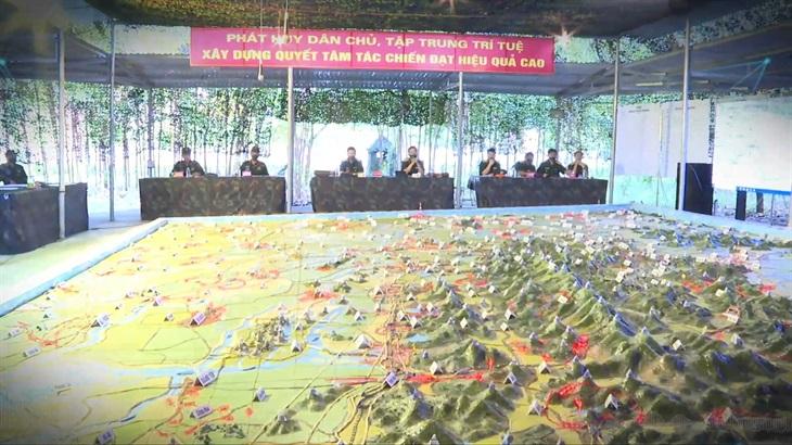 Quân đoàn 2 hoàn thành diễn tập chiến dịch 1 bên 2 cấp trên bản đồ năm 2021