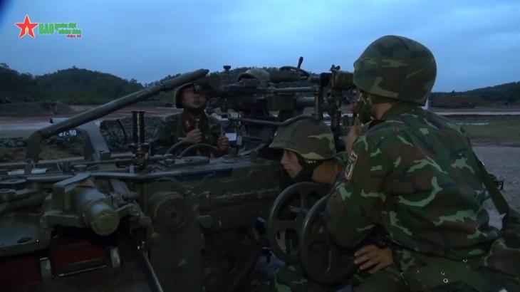 Bế mạc Diễn tập chiến thuật, hội thi bắn đạn thật lực lượng phòng không lục quân phòng không kiêm nhiệm Bộ đội Biên phòng năm 2021