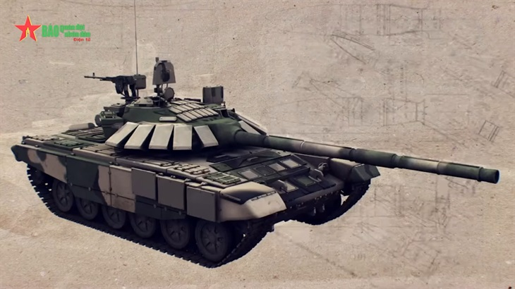 Hai mẫu xe tăng chiến đấu chủ lực tại Army Games 2021