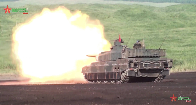 Type 10 - Xe tăng nội địa hiện đại của Nhật Bản
