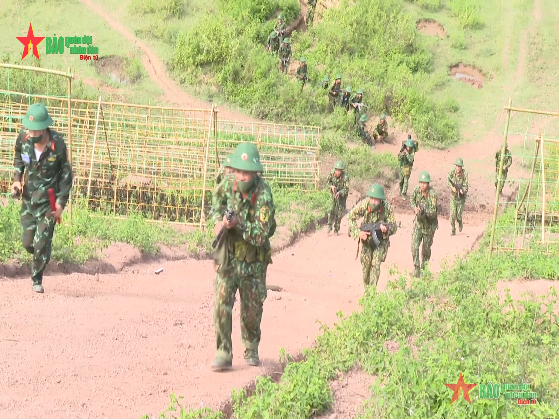 Sư đoàn 306, Quân đoàn 2 diễn tập bắn đạn thật cho lực lượng dự bị động viên