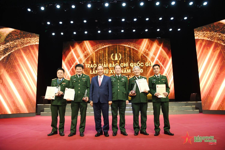 Thành công vang dội của Báo Quân đội nhân dân tại giải Báo chí quốc gia
