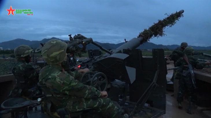 Diễn tập chiến thuật lực lượng phòng không lục quân, phòng không kiêm nhiệm Bộ đội Biên phòng khu vực phía Bắc năm 2021