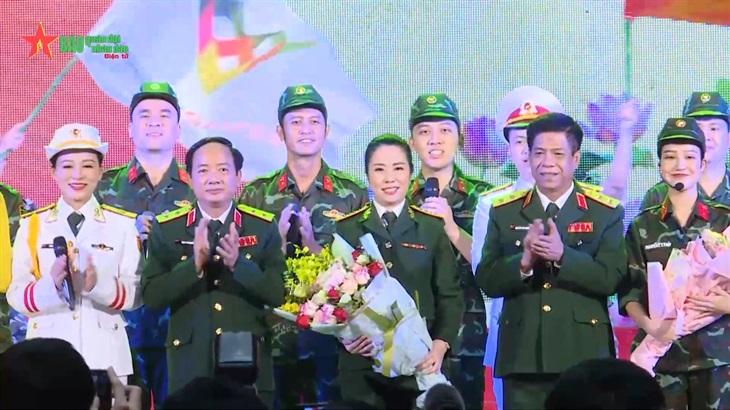 Bản tin Quân sự - Quốc phòng Lễ tuyên dương thành tích các đội tuyển và lực lượng tham gia Army Games 2021
