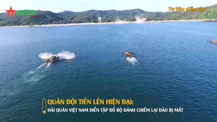 Hình ảnh diễn tập ấn tượng của Hải quân Việt Nam