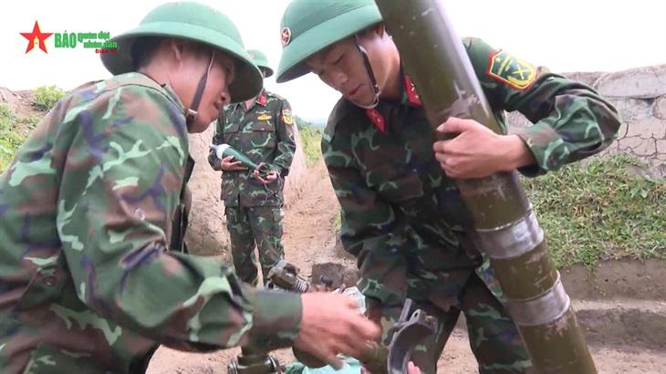 Xây dựng khu vực phòng thủ tỉnh Điện Biên thêm vững chắc