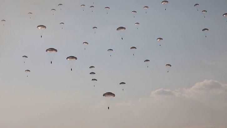 Tập trận đổ bộ đường không chiến thuật tại Zapad-2021